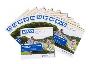 Set of 10: Small information brochure