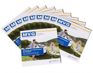 Set of 10: Large information brochure