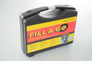 Dunlop tire inflator emergency aid