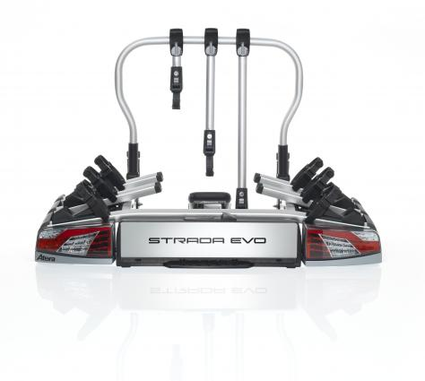 Towbar-mounted cycle carrier Strada Evo 3